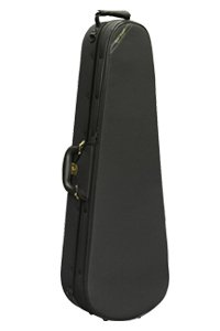 Super Light Black Shaped Viola Case
