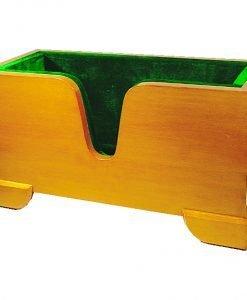 Evergreen Cello Display Cradle Green