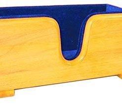 Evergreen Violin Display Cradle Blue
