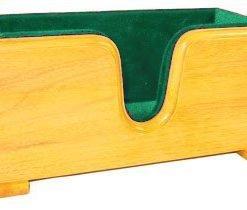 Evergreen Violin Display Cradle Green