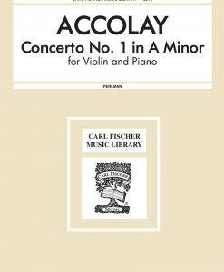 Accolay - Concerto No. 1 In A Minor for Violin and Piano - George Perlman - Carl Fischer