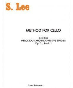 S. Lee - Method for Cello - Carl Fischer