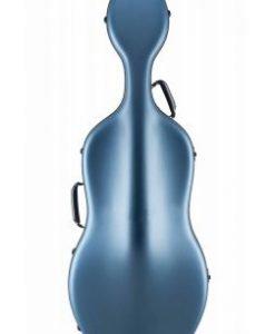 Otto Musica Mirage Matte Blue Cello Case