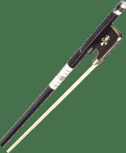 Evergreen Workshop 300 Series Carbon Graphite Viola Bow Blue