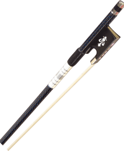 Evergreen Workshop 300 Series Carbon Graphite Violin Bow Blue