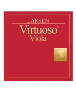 Larsen Virtuoso Soloist Viola Set - Ball End A String Medium
