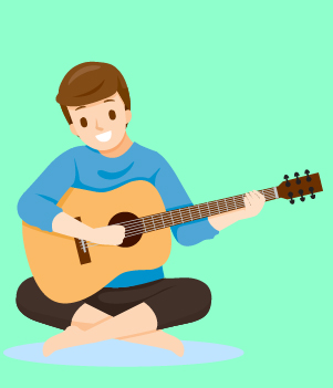 13. Playing music makes you happier