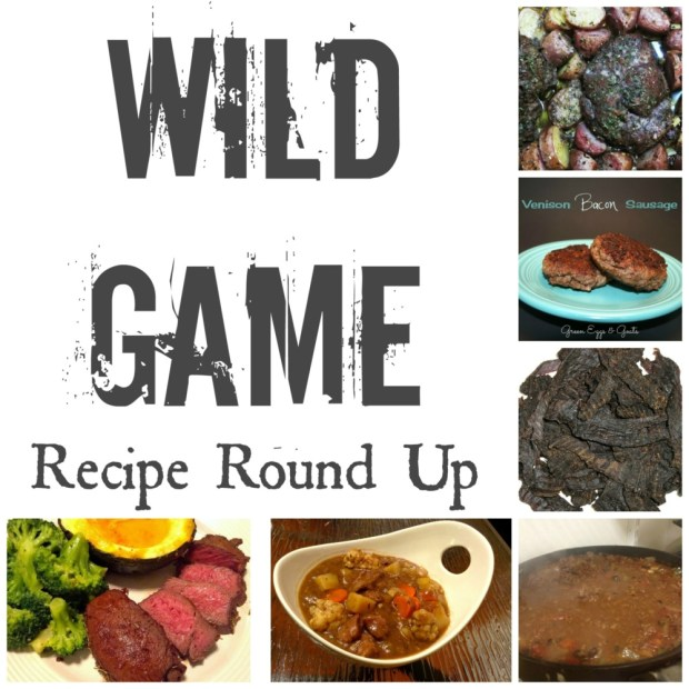 Wild Game recipe round up