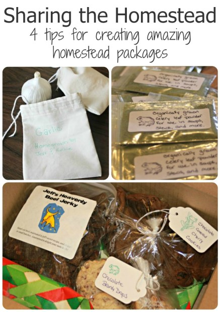 Sharing the Homestead - how to make awesome homestead care packages for loved ones