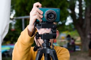 Braiden the cameraman