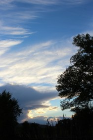 October Sunset