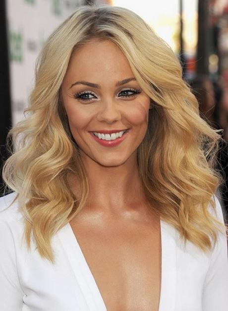 Blonde mittellange haare