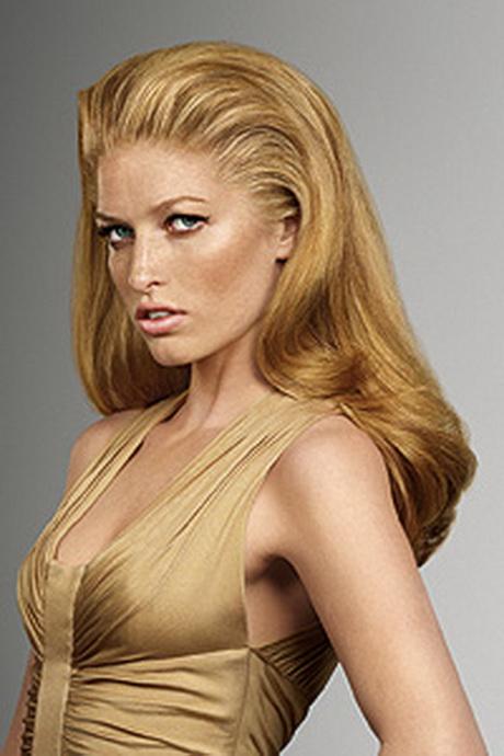 dauerwelle blonde haare