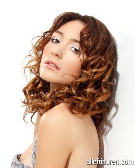 Dauerwelle bei kurzem haar