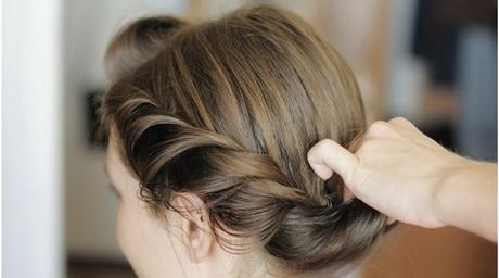Einfache frisuren fr schulterlange haare