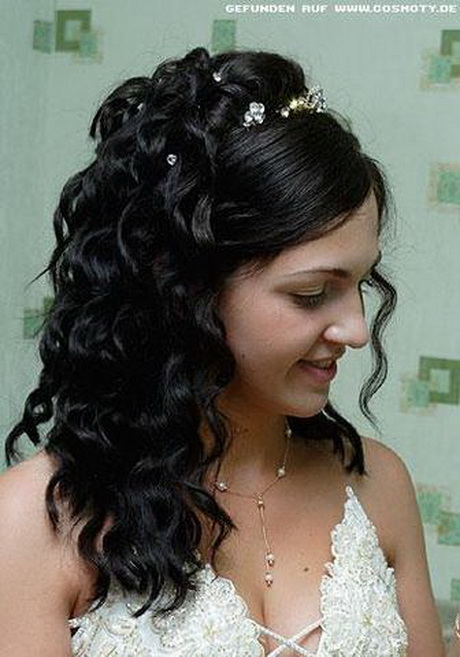 Frisur hochzeit lange haare