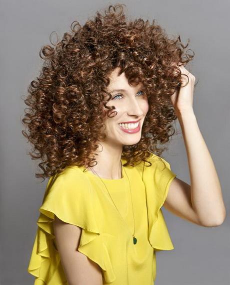 Frisuren krauses haar