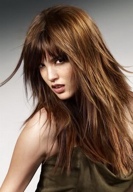 Frisuren Stufenschnitt Lange Haare