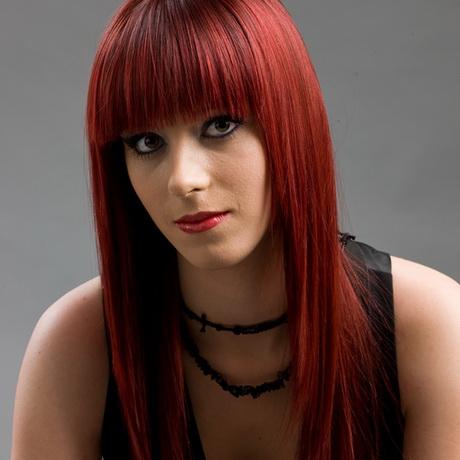Haarfarben rotbraun