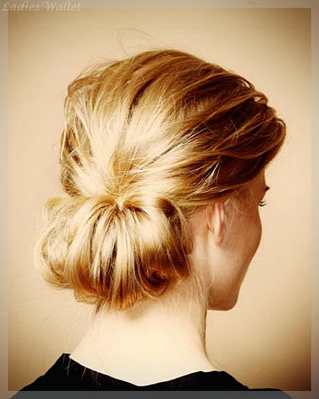 Hochsteckfrisuren lange haare einfach