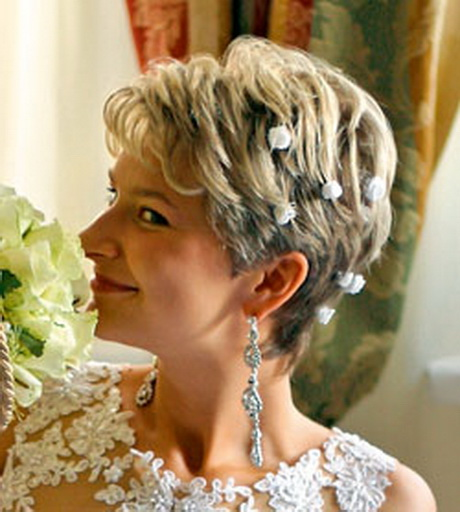 Hochzeitsfrisuren kurz