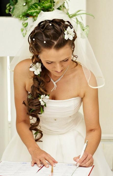 Hochzeitsfrisuren lange haare locken