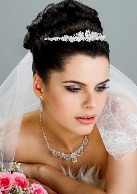 Hochzeitsfrisuren mit schleier