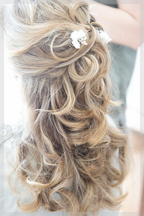 Konfirmationsfrisuren locken