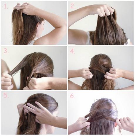 Schnelle frisuren fr schulterlanges haar