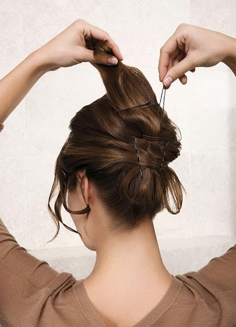 Steckfrisuren kurze haare