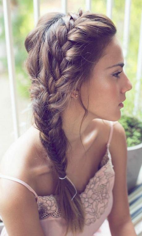 Zopf frisuren fr lange haare