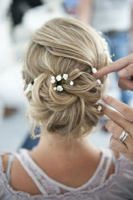 Hochzeitsfrisuren lange haare hochgesteckt