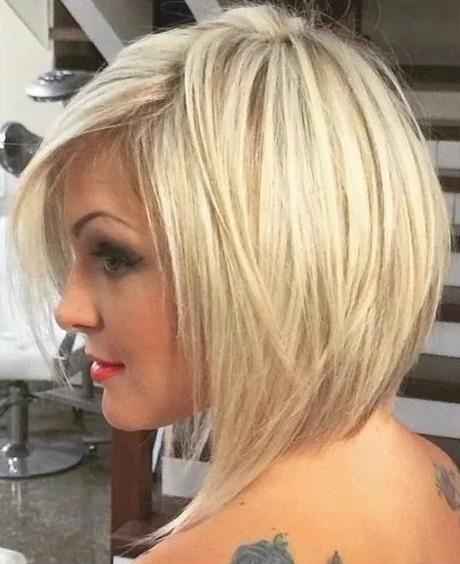 Frisuren blond 2018