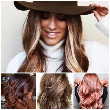 Haarfarben trend 2018
