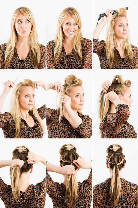Haare flechten leicht