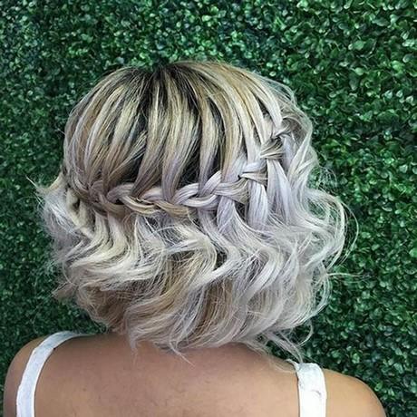 Zpfe flechten kurze haare