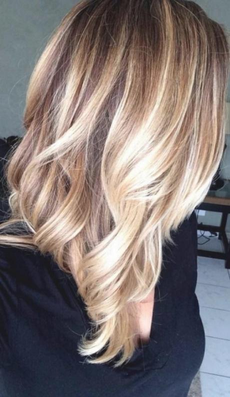 Mittellange haare blond 2018
