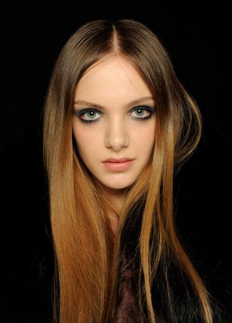 Dnne lange haare stylen
