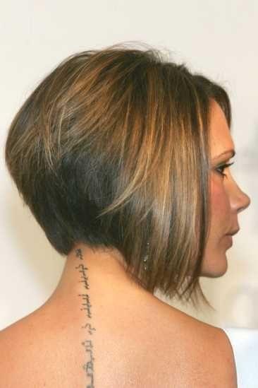 Frisuren kurzhaar hinterkopf