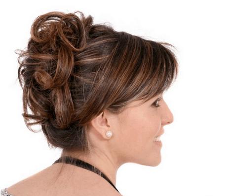 Schne hochsteckfrisuren fr mittellange haare