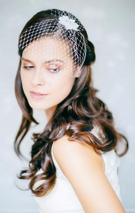 Braut lange haare