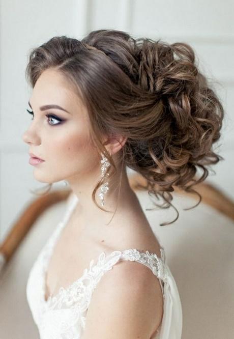 Brautfrisuren Dunkle Haare