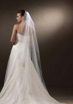 Brautfrisuren mit langem schleier