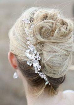 Brautfrisuren mittellanges haar ohne schleier