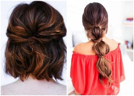 Einfache frisuren schulterlange haare