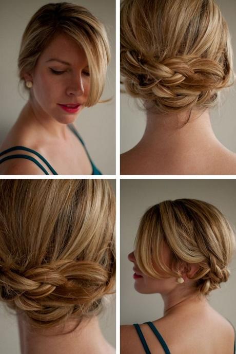Einfache hochsteckfrisuren halblange haare