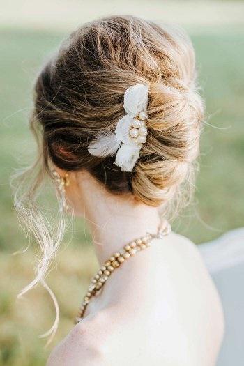 Brautfrisur Schlicht Wohnkultur Design Haarstyling Und