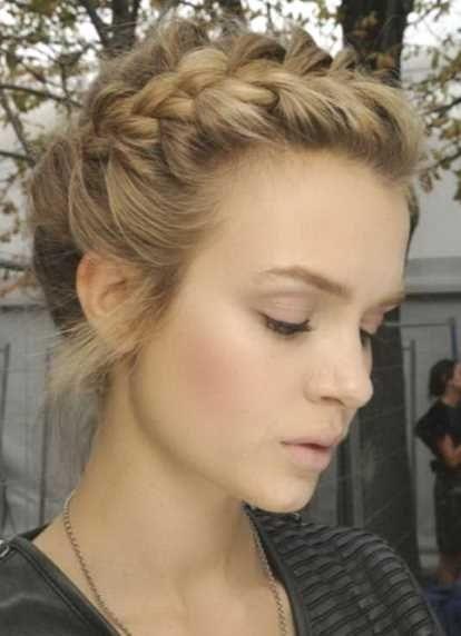 Hochsteckfrisuren Mittellange Haare Halboffen Hochzeits Und