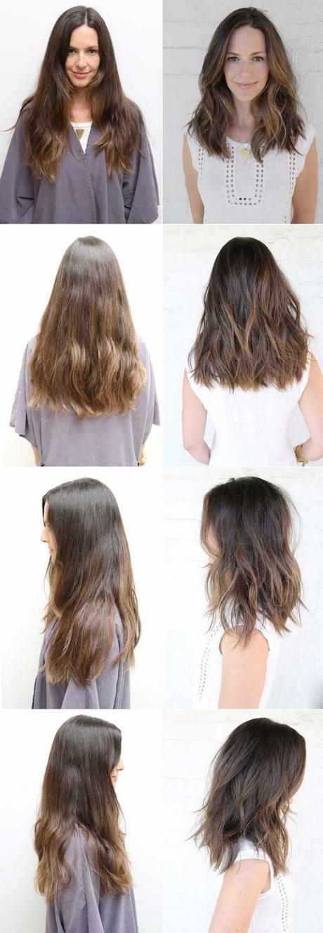 Gestufte haare lang