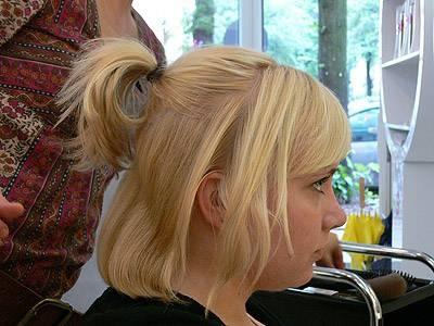 Halblange haare hochsteckfrisur